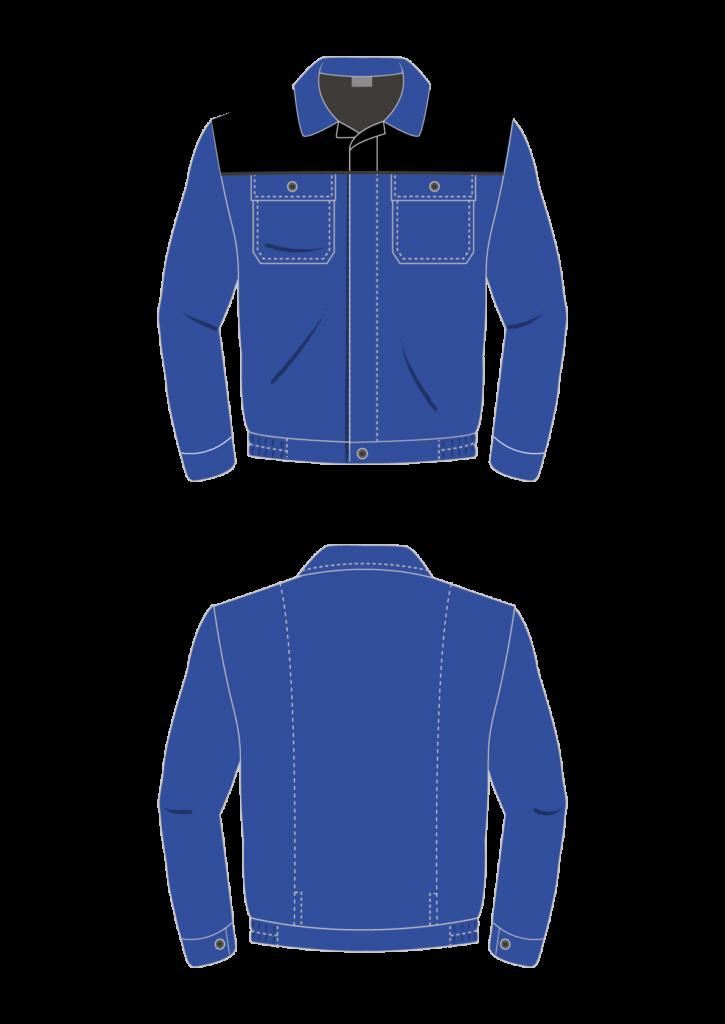 Bluza robocza STANDARD - grafika - producent LOGO - kolor 3