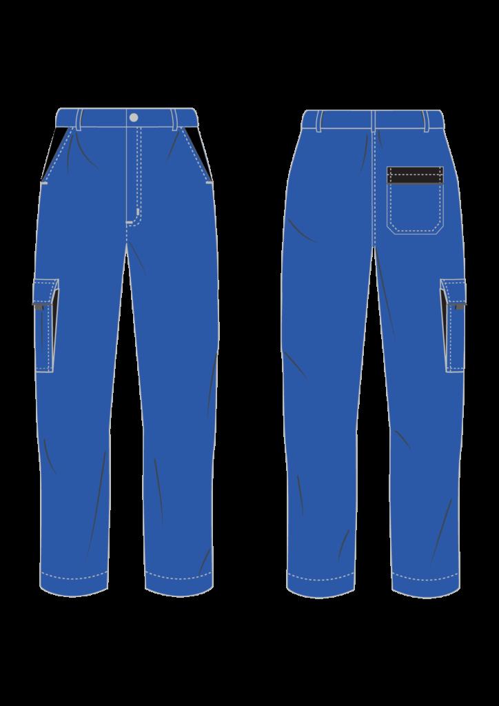 Spodnie robocze EXPERT - grafika - producent LOGO - kolor 1