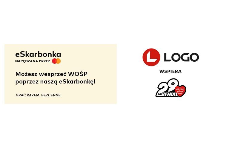 Logo wspiera wośp