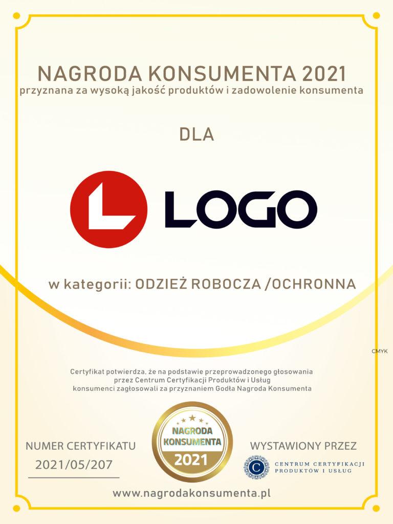 LOGO Nagroda Konsumenta 2021